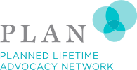 Logo for Planned Lifetime Advocacy Network