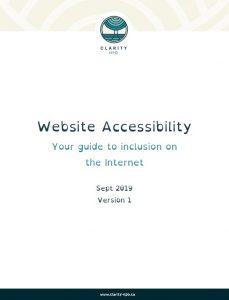 Web Accessibility Guide